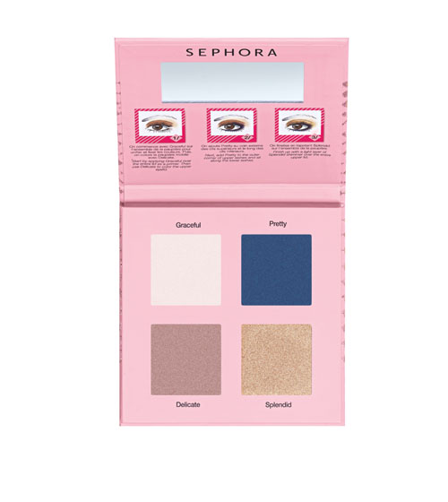 Sephora - The Suprizing Palette Chic Eyeshadows - AED 175 (set of 4)