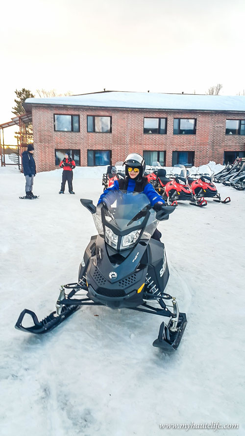 Snowmobile Ice Fishing Lapland10
